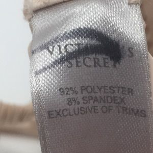 Victoria's Secret Intimates & Sleepwear - 🆕 Victoria Secret Nude Floral Design Garter Belt